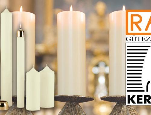 """Das """"RAL-Gütezeichen Kerzen"""" eine garantierte Qualität"""