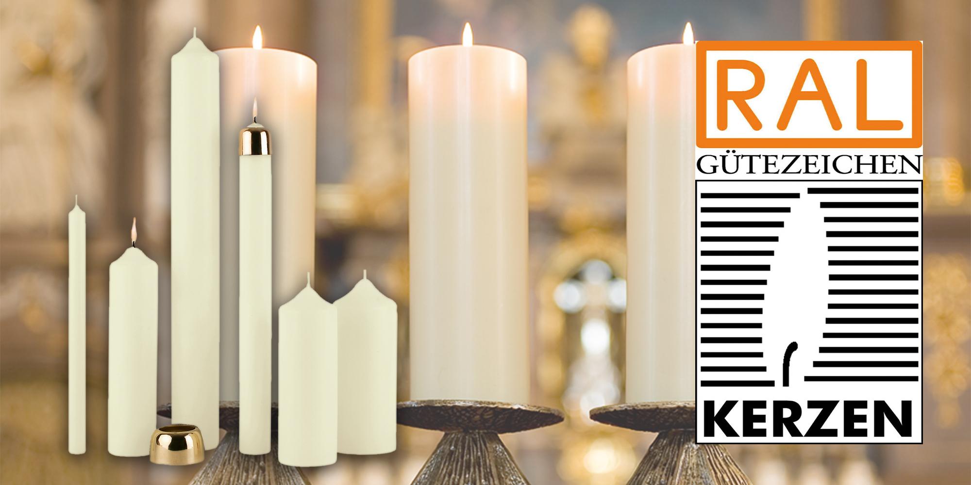 RAL-Gütezeichen Kerzen, eine garantierte Qualität